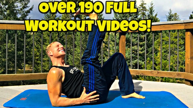 """Every Single Full Length Workout Video (276 in total!) from """"Sean's Vault"""" plus a few Extras!"""