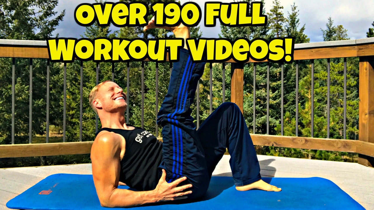 "Every Single Full Length Workout Video (over 196) from ""Sean's Vault"" plus a few Extras!"