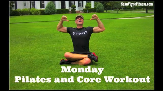 Monday: Pilates and Core Class