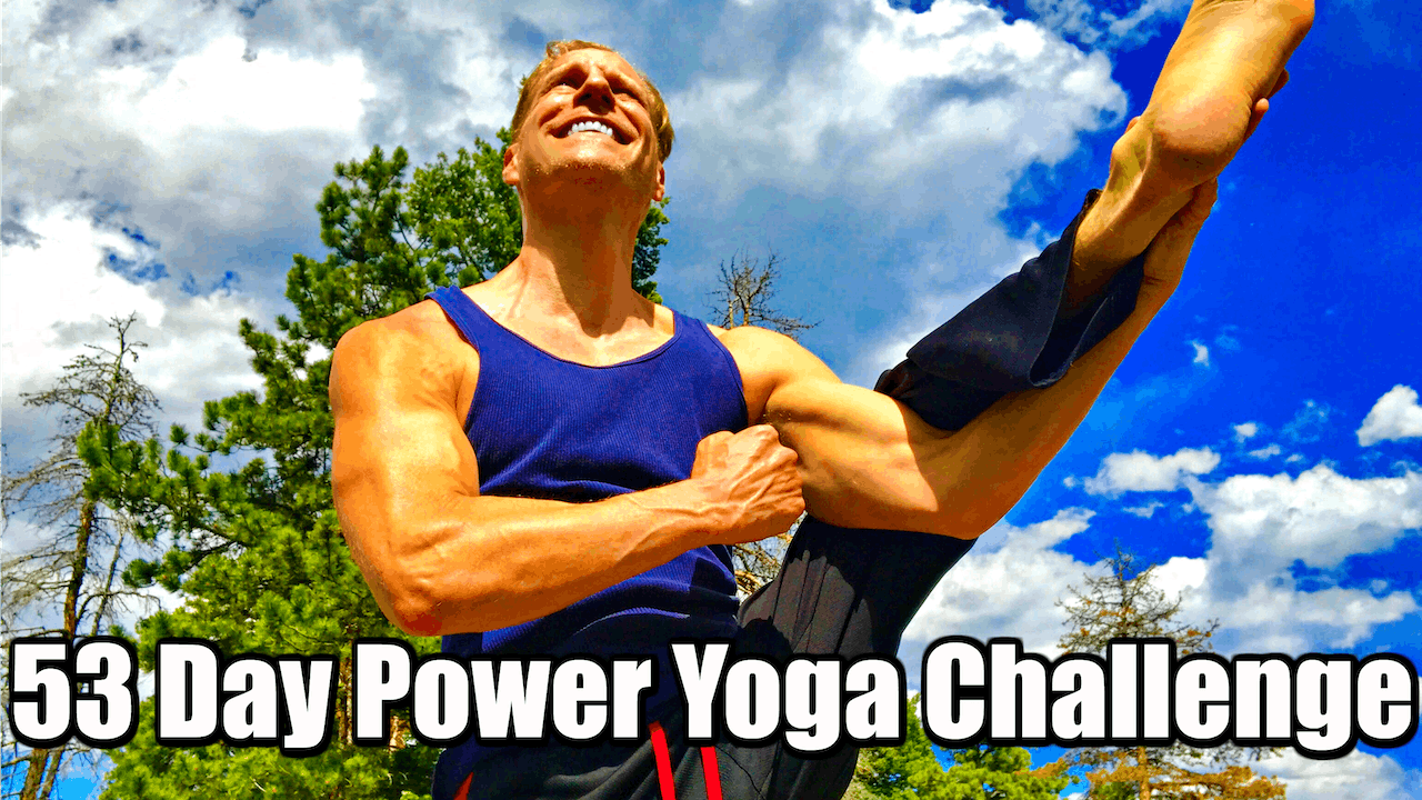 55 Day Power Yoga Conditioning Challenge
