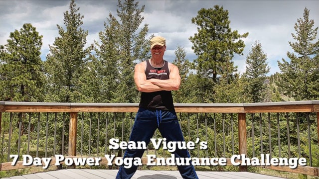 Day 2 - Lunges - 7 Day Power Yoga Endurance Challenge