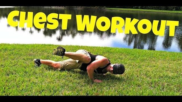 MASSIVE Chest Workout - 100 Push Up Challenge