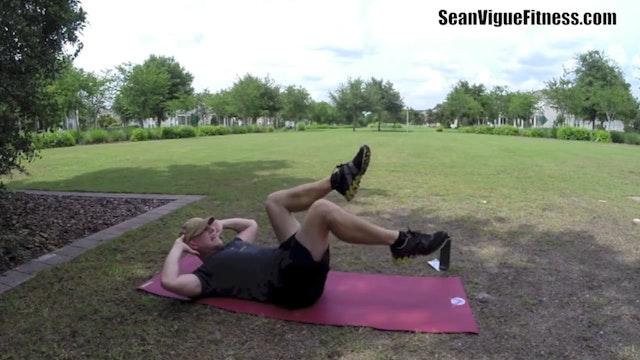 Sean Vigue's CRAZY 70 Min Power Yoga, Pilates Abs Weight Loss Workout!