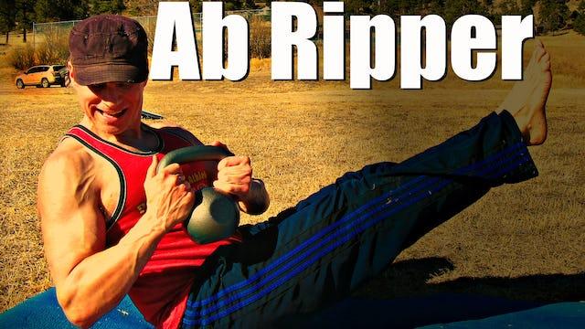 10 Min Kettlebell Ab Ripper Workout