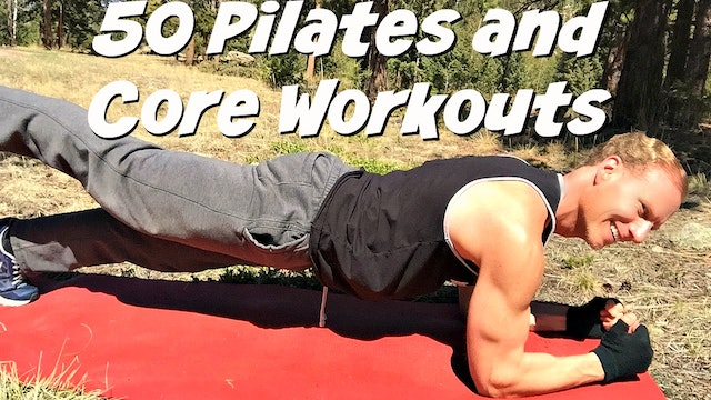 "Pilates and Core Videos: Every Single Pilates and Core Workout (85 in total!) in ""Sean's Vault"" plus Extras!"
