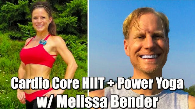 40 Min Cardio Core HIIT + Power Yoga ...