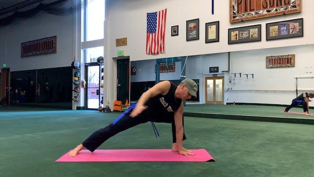 Warrior Side Plank Flow
