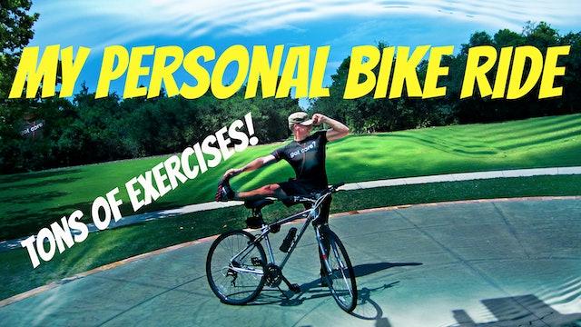 Sean's Total Body Bike Workout - Cross Training BONANZA!