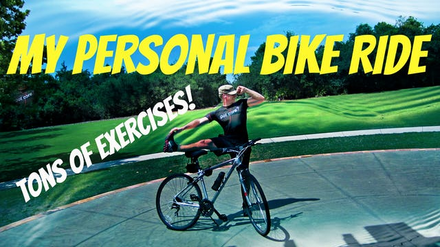 Sean's Total Body Bike Workout - Cross Training BONANZA!