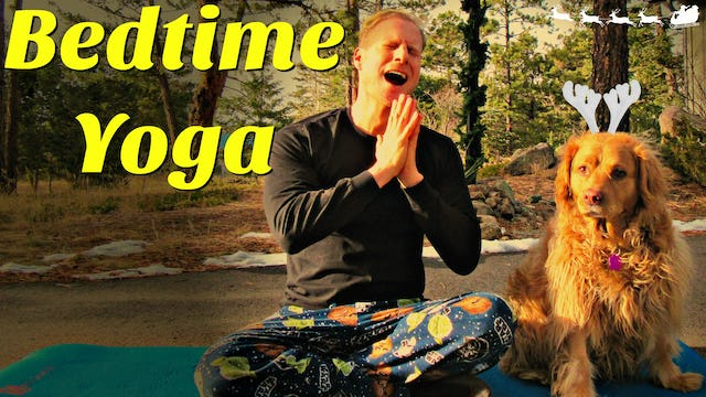 Day 7 - Gentle Yoga Stretch for Bedtime - 7 Day Flexibility Challenge
