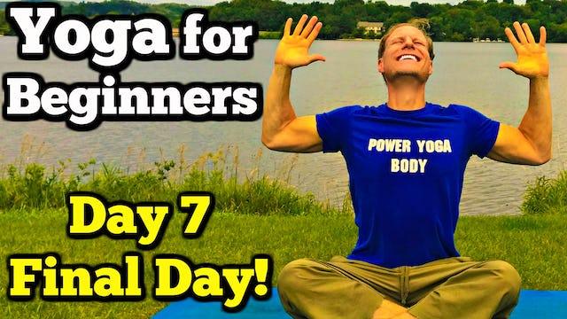 Day 7 - 35 Min Beginner Yoga Flow - Sean's 7 Day Beginner Yoga Challenge