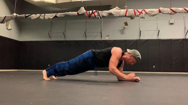 Mat Room Plank Ups