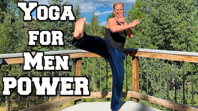Yoga for Men - Power Yoga