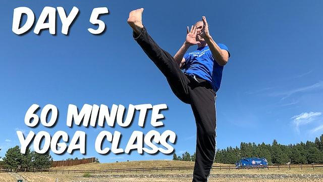 Day 5 - 7 Day Yoga Foundation Program - MOONS