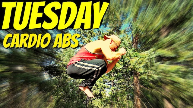 Tuesday - Calorie Scorching Cardio Core Workout - 7 Day Core Challenge