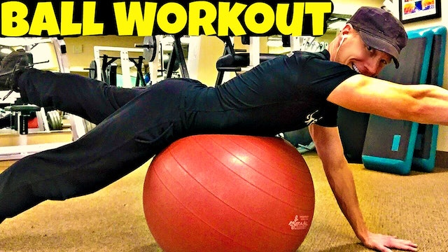 3 Minute Killer Exercise Ball Core & Abs Workout