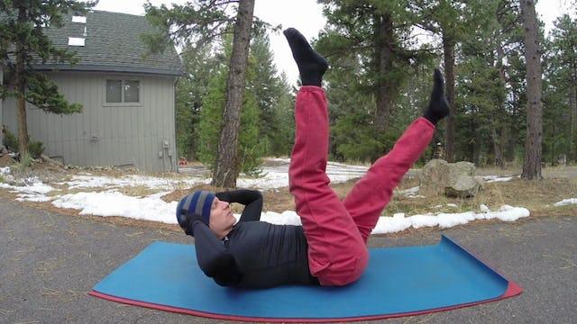 Vault The Best Darn Pilates Core Workout Video