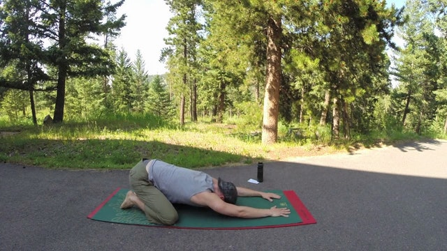 Vault Yoga for Total Body Release Routine