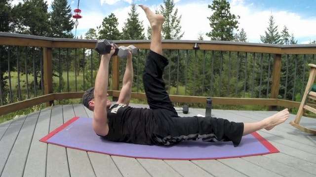 Vault Pilates Blaster w/ Weights Workout