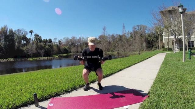 Vault Pilates and Dumbbells Spectacular Workout