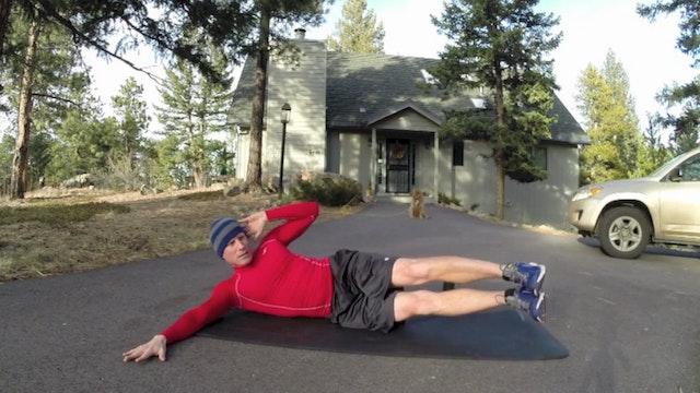 Vault Christmas Plank Core Workout