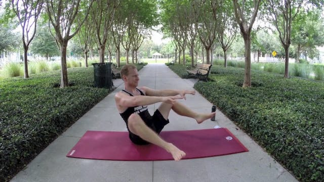 Vault Yoga Flow for Legs and Hip Opening