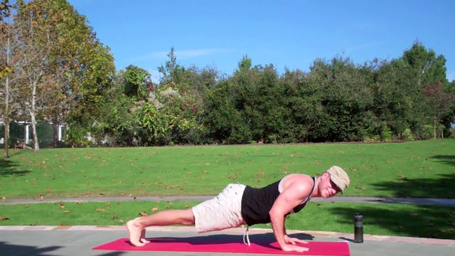 Vault Power Yoga Vinyasa Core Workout