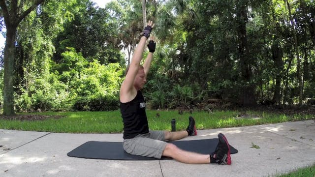Vault Full Pilates Core Workout for Legs and Shoulders