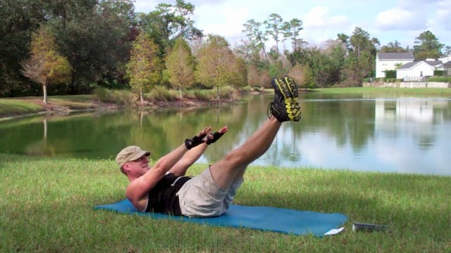 Vault Rock Hard Core and Deep Stretch Workout