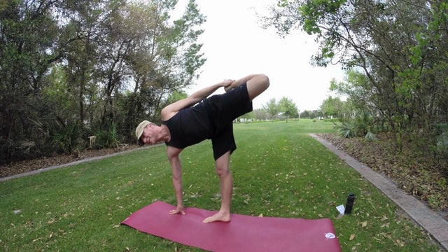 Vault Yoga Ripped Fire Flow