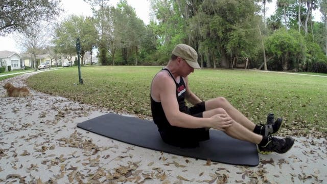 Vault Professional Pilates in the Park Workout