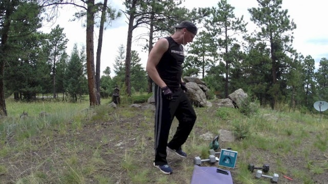 15 minute Kettlebell and Dumbbell Workout