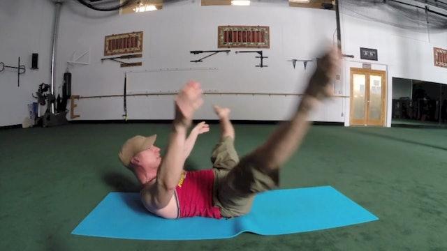 Vault Pilates for Flexibility - Sean Vigue's 'Pilates for Athletes' book