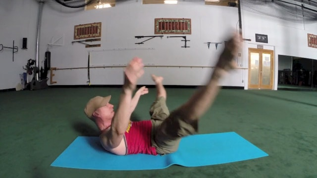 Vault Pilates for Flexibility - Sean Vigue's 'Pilates for Athletes' book