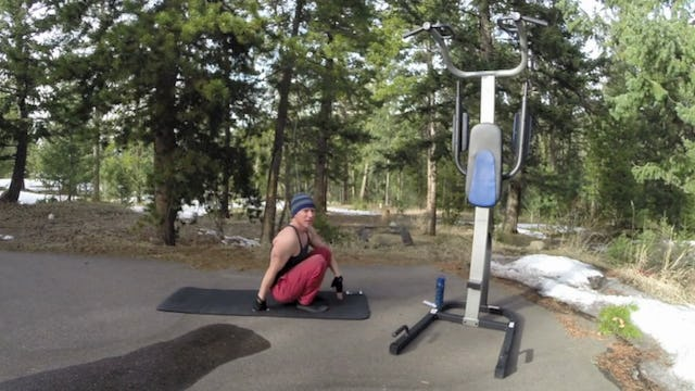 SVF 365 - Pull Up Holds Mixed w/ Cardio Pylata Core Madness!