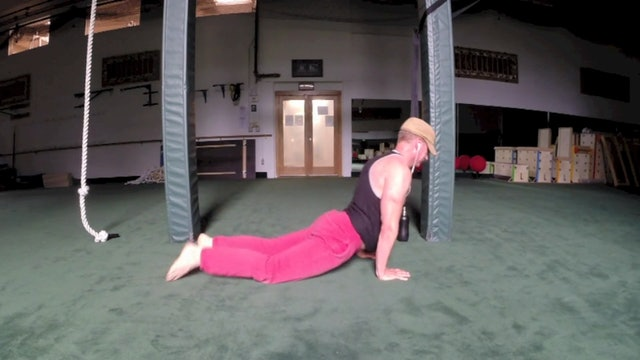 """Sean's """"Off the Cuff"""" Spontaneous Bodyweight Workout Insanity!"""