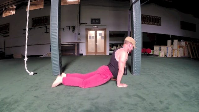 "Sean's ""Off the Cuff"" Spontaneous Bodyweight Workout Insanity!"