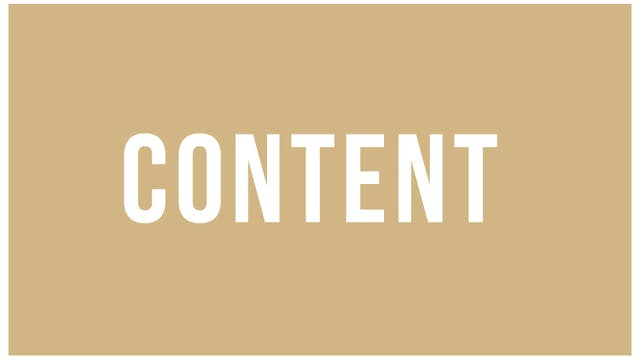 Sebastian Junger Part 1: Content