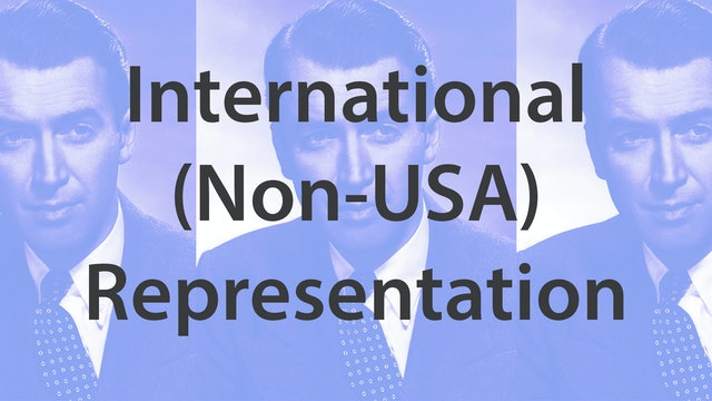 International (Non-USA) Representation