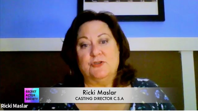 Ricki Maslar: Rapid Fire