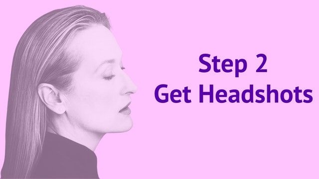 Step 2: Get Headshots