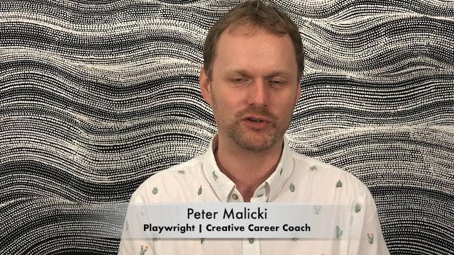 Meet Peter Malicki: Playwright & Creative Career Coach