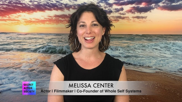 Meet Melissa Center: Actor, Filmmaker & Co-Founder of Whole Self Systems