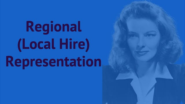 Regional (Local Hire) Representation