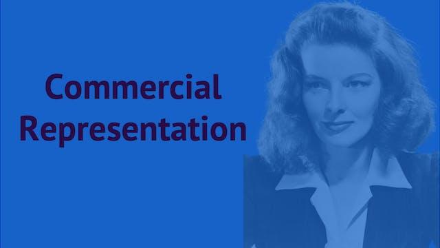 Commercial Representation