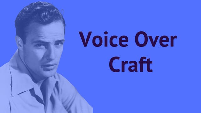 Voice Over - Craft
