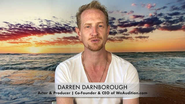 Meet Darren Darnborough: Actor & Producer