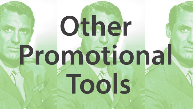 Other Promotional Tools
