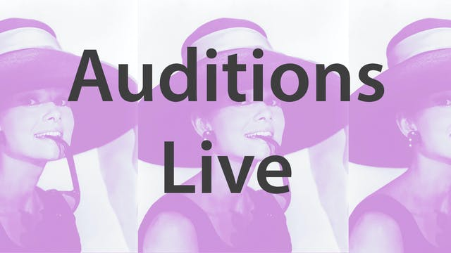 Auditions - Live With Casting