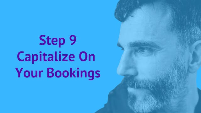 Step 9. Capitalize on Your Bookings